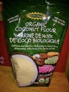 coconut flour - farine-coco